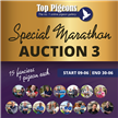 NOW LIVE!! MARATHON AUCTION 3